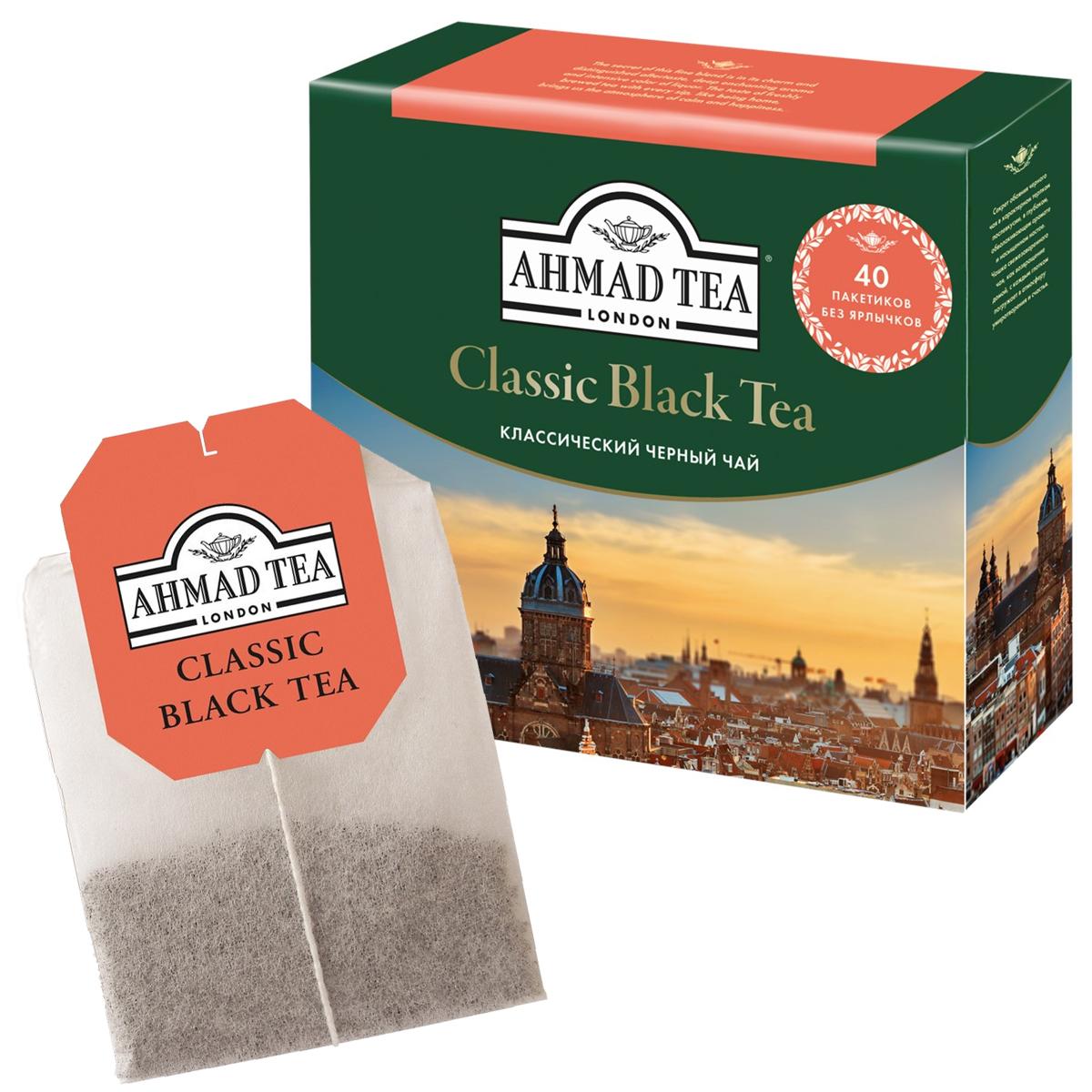 Чай черный классический 100пак. по 2гр. AHMAD - фото 1
