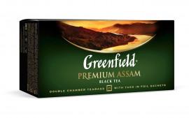 Чай черный классический Premium Assam 100пак. по 2гр., термосаше в пакете