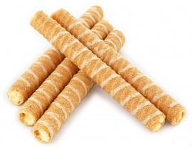 """Вафельные трубочки """"Десертные"""" со вкусом ванили 2кг."""