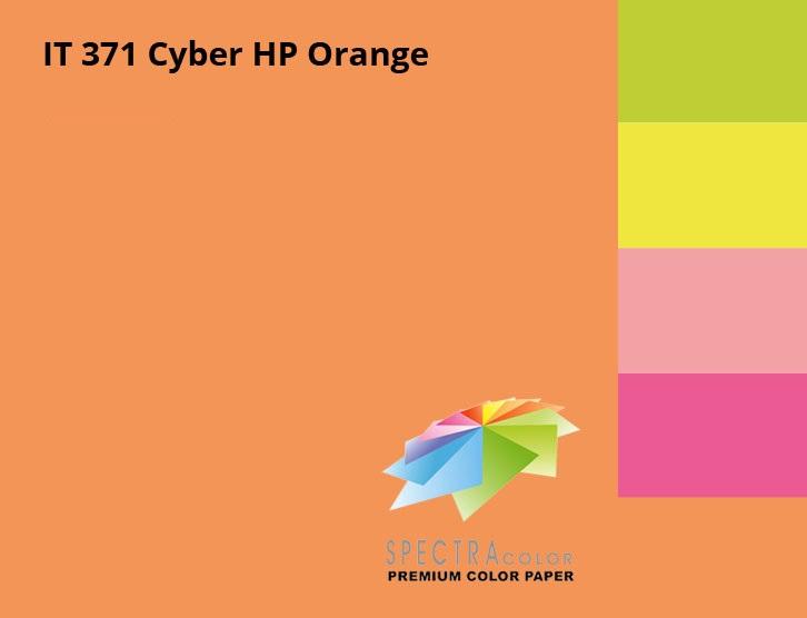 Бумага цветная Color A4 неон 75гр./м2. Orange, 500листов, оранж. Spectra Color - фото 3
