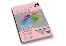 Бумага цветная Color A4 пастель 80г./м2. Rose, 100листов, розов.