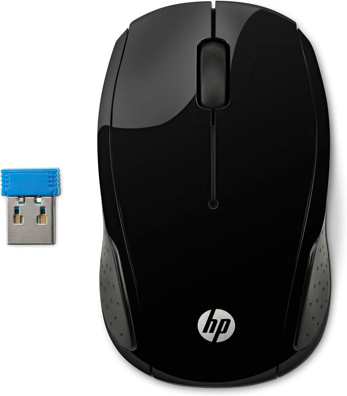 Мышь USB беcпроводная оптическая HP Wireless Mouse 220, черн. HP - фото 1
