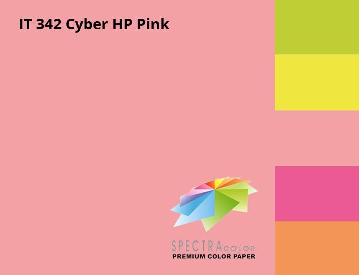 Бумага цветная Color A4 неон 75гр./м2. Pink, 500листов, розов. Spectra Color - фото 3
