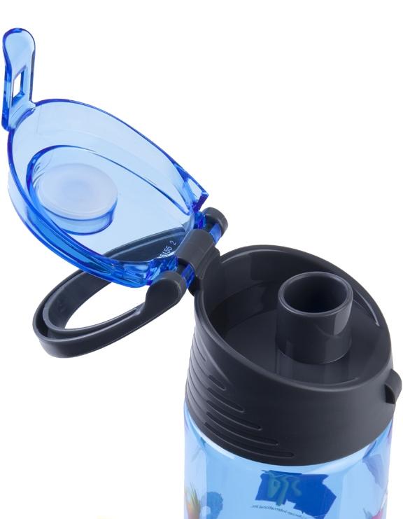 Бутылочка для воды Kite MTV 550мл, голуб. Kite - фото 2