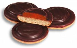Печенье Галиция с клубничным вкусом, 1,5кг.