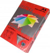 Бумага цветная Color A4 интенсив 80гр./м2. Red, 500листов, красн.
