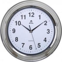 Часы настенные F66119R, круглые, сталь