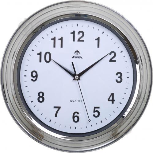 Часы настенные F66119R, круглые, сталь Fuda - фото 1