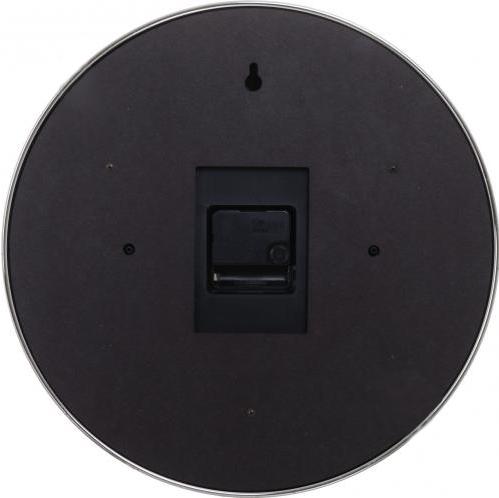 Часы настенные F66119R, круглые, сталь Fuda - фото 2