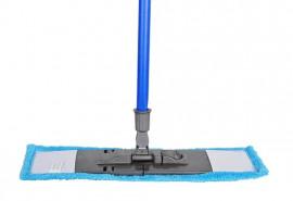 Швабра для мытья пола + микрофибра насадка 43см.