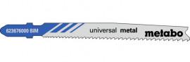 Пилка Лобзиковая Universal Metal T 123 XF9 5ед/уп. раб/дл.74мм