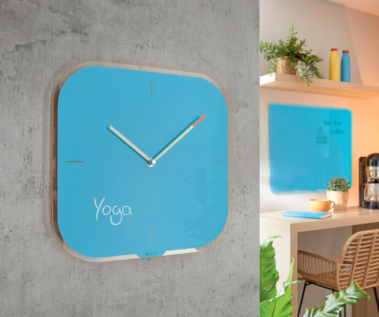 Часы настенные Cosy, квадратные, стекло, син. LEITZ - фото 8