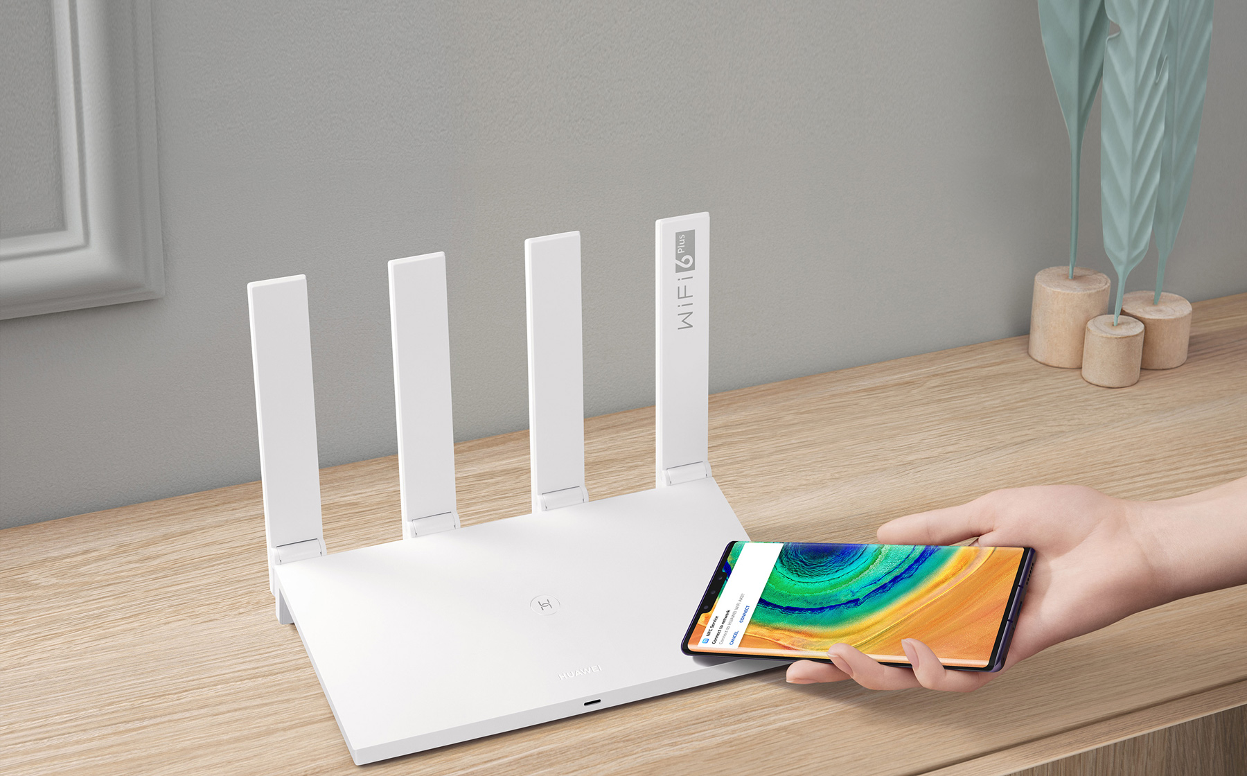 Беспроводной маршрутизатор Huawei AX3 Quad-Core WiFi 6+ MESH Gigabit Router HUAWEI - фото 6
