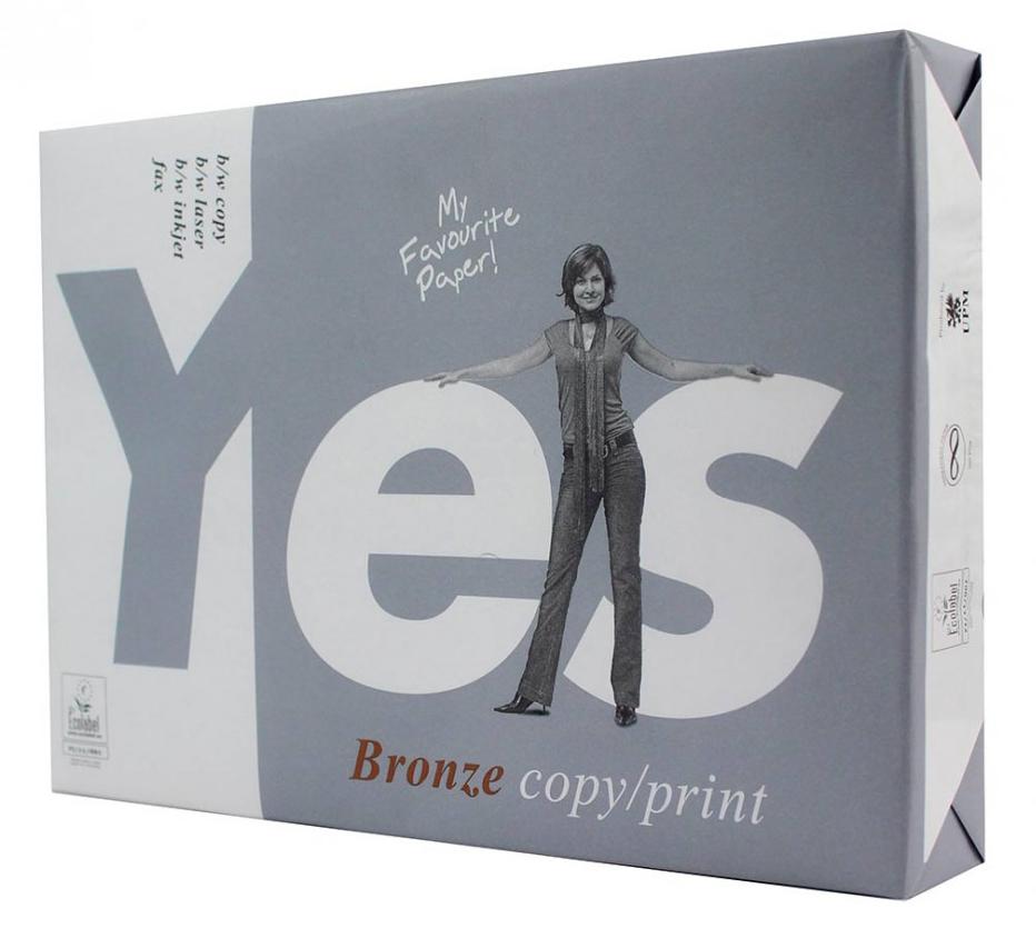 Бумага А4 80гр./м2. 500 листов Yes bronze UPM - фото 1