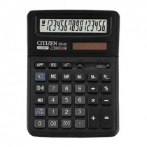 Калькулятор бухгалтерский SDC-395 16 разрядов, 143х192х39мм.