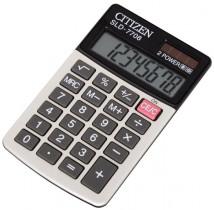 Калькулятор карманный SLD-7708 8 разрядов, 112х68х6,6мм.