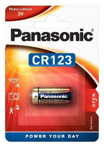 Батарейка CR-123AL, 3v,Lithium Power Panasonic - фото 2