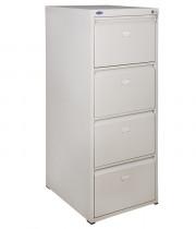 Шкаф картотечный, для подвесных файлов 4ящика, (1335*495*602) метал., замок сер.