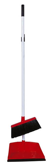 Щетка для уборки помещений с ручкой и совком, мягкий ворс Италия - фото 1