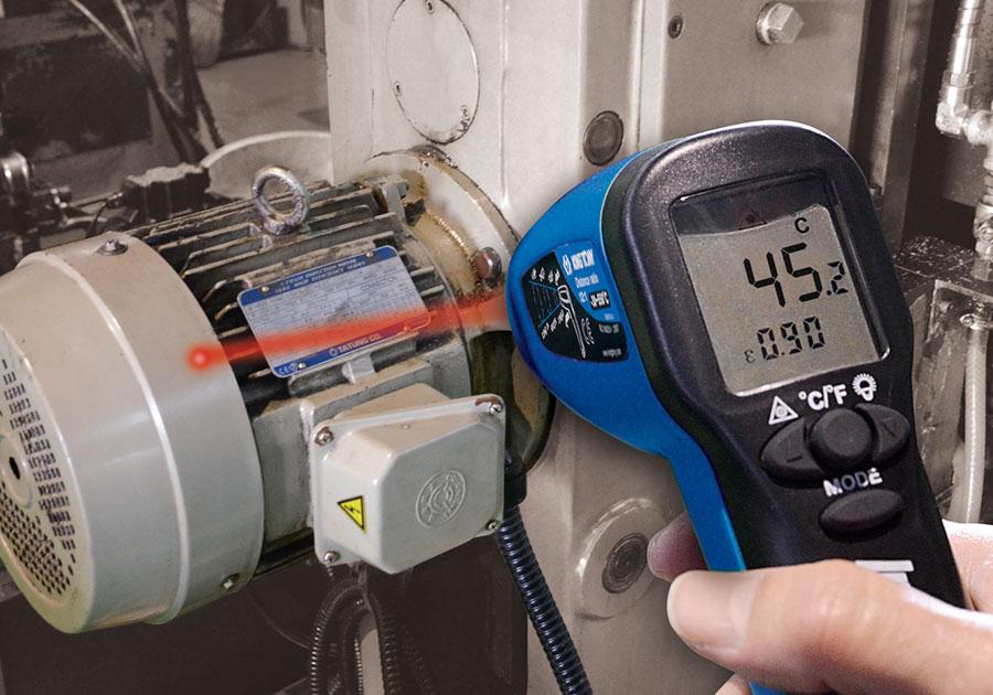 Безконтактный инфракрасный термометр, -30° - +550° С Kingtony - фото 3