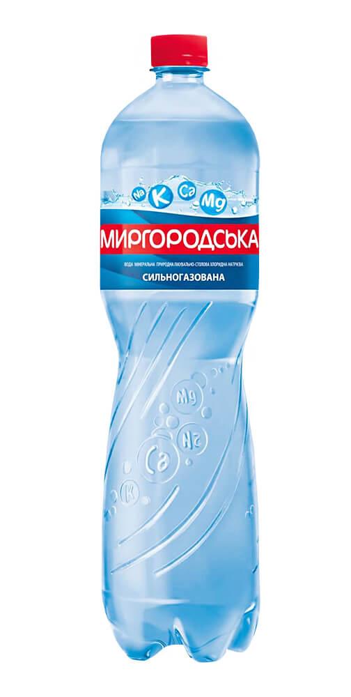 Вода минеральная сильногазированная Лагидна 1,5л., 6шт./уп., пластиковая бутылка Миргородская - фото 3