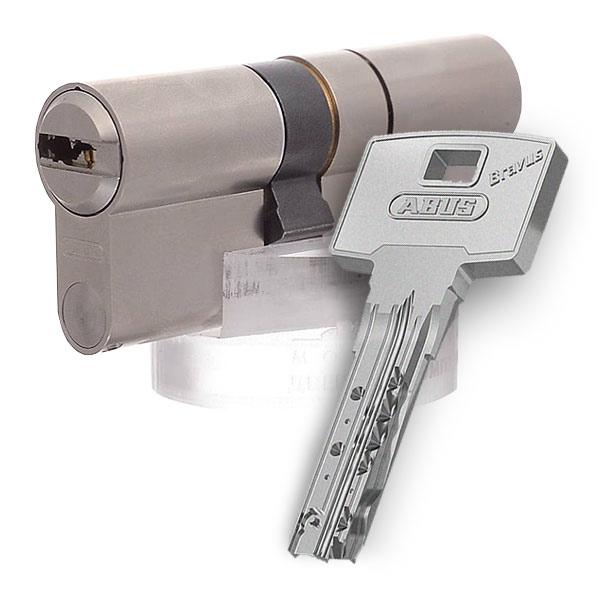 Блок депозитных ячеек (920*635*430) ключевой замок, 8 ячеек, 2 скважины на ячейку, алюминий Valberg - фото 3
