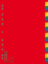 Разделитель страниц цифровой 1-31 пласт., цветной