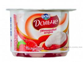 Йогурт 3,2%, Клубника, 4шт./уп.