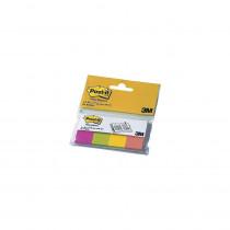 Закладки бумажные 20х38мм., 4 цвета по 50 листов